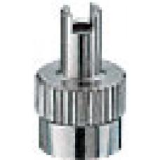 Metal valve cap 17-491S (100pcs.)