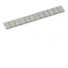 Adhesive steel wheel weight 5x5g (EPOXY PLASTIC COATING) (100pcs.)