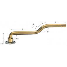 Large bore valve V3-06-2 with vulk. rubber base V3-08-3 (1pcs.)
